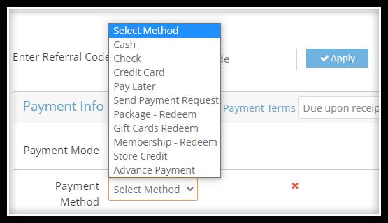 dance studio payment-management