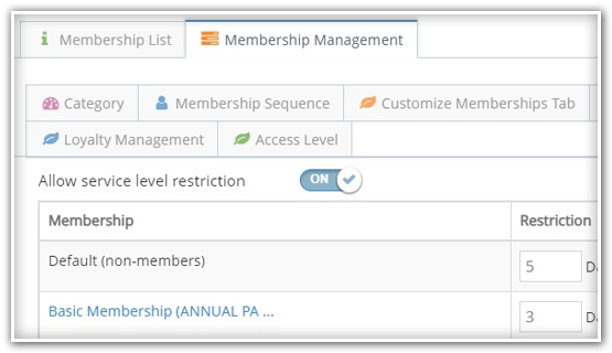 club and gym management